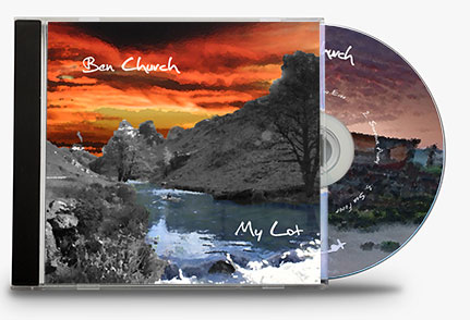 Ben Church's EP My Lot in CD case